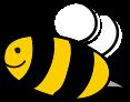 Logo pszczoła